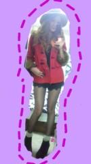 小林梨沙 公式ブログ/おNEW赤コート着てみたょん 画像1