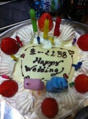SHINGO☆(SEX MACHINEGUNS) 公式ブログ/アコギでハピバ 画像2