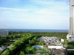 奥山あゆみ 公式ブログ/ホテルから 画像1