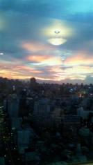奥山あゆみ 公式ブログ/BBQと綺麗な夕焼け♪ 画像1
