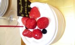 奥山あゆみ 公式ブログ/そしてケーキ♪ 画像1