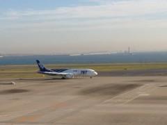 奥山あゆみ 公式ブログ/空港から( ̄▽ ̄) 画像1