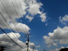 奥山あゆみ 公式ブログ/雲が… 画像1