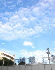 奥山あゆみ 公式ブログ/青空ーー♪ 画像1