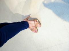 奥山あゆみ 公式ブログ/もえちゃんのお靴。 画像1