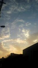 奥山あゆみ 公式ブログ/不思議な空 画像1
