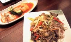 奥山あゆみ 公式ブログ/韓国料理ーー♪ 画像1