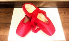 奥山あゆみ 公式ブログ/赤い靴☆ 画像1