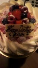 奥山あゆみ 公式ブログ/Birthday!?(>▽<) 画像1