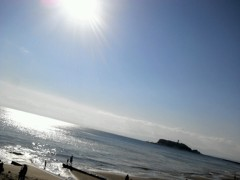 奥山あゆみ 公式ブログ/輝く海!! 画像1
