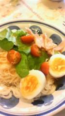 奥山あゆみ 公式ブログ/サラダ麺☆ 画像1