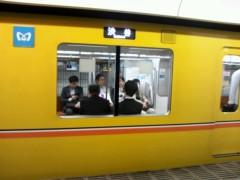 奥山あゆみ 公式ブログ/黄色い銀座線!! 画像1