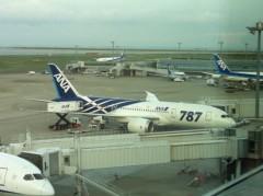 奥山あゆみ 公式ブログ/飛行機ちゃんに会いに…♪ 画像1