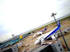 奥山あゆみ 公式ブログ/ 飛行機Loveな1日♪ 画像1