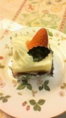 奥山あゆみ 公式ブログ/ケーキ♪ 画像1