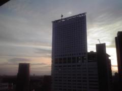 井上あかね 公式ブログ/綺麗な夕日☆ 画像1