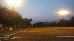 井上あかね 公式ブログ/草野球 画像1