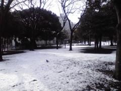 井上あかね 公式ブログ/念願の雪 画像2