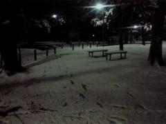 井上あかね 公式ブログ/念願の雪 画像1