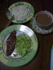 佐藤太三夫 公式ブログ/朝から肉 画像1