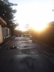 佐藤太三夫 公式ブログ/昨日、夕立の後の夕日です。 画像2