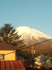 竹井亮介 公式ブログ/本日の富士山 画像1