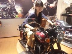 彩羽真矢 公式ブログ/中継ええなぁ@カワサキワールド 画像2