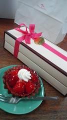 彩羽真矢 公式ブログ/誕生日ケーキ(o^∀^o) 画像1