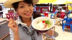 彩羽真矢 公式ブログ/中継ええなぁ@須磨海水浴場! 画像2
