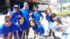 彩羽真矢 公式ブログ/中継ええなぁ@神戸よさこいまつり2012 画像1