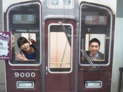 彩羽真矢 公式ブログ/中継ええなぁ@鉄道甲子園2012 画像1