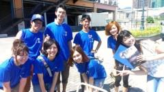 彩羽真矢 公式ブログ/中継ええなぁ@神戸よさこいまつり2012 画像2