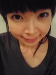 彩羽真矢 公式ブログ/前髪自分で断髪の巻き 画像1