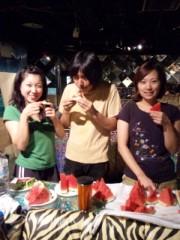白井蛍 公式ブログ/みんなで仲良くスイカを食べよう 画像1