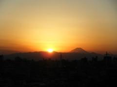 白井蛍 公式ブログ/富士山! 画像1