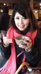 田中麻衣 プライベート画像 赤福ぜんざい