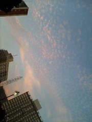 明日香 公式ブログ/空が 画像1