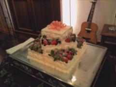川瀬富美子 公式ブログ/可愛いウエディングケーキやローストビーフに入刀した そのあとは♪ 画像1