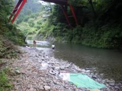 川瀬富美子 公式ブログ/川遊び・・・ 画像1