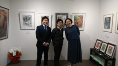 川瀬富美子 公式ブログ/遊筆者書家  福田博子先生の個展に きました 画像1