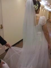 川瀬富美子 公式ブログ/花嫁のベール♪ 画像1