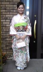 櫻庭智美 プライベート画像 成人式のときの写真