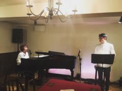 足立学 公式ブログ/ご報告!ステージ編「ピアノと声と、声とピアノと Second」 画像1