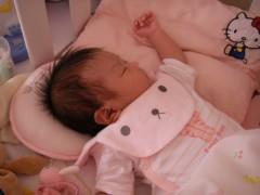 宇宿真紀子 公式ブログ/赤ちゃんの寝顔 画像1