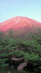 池田昌子 公式ブログ/本物の赤富士! 画像1
