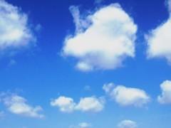 池田昌子 公式ブログ/青空が 画像1