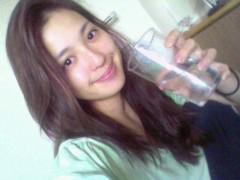 中村アン 公式ブログ/コップ一杯 画像1