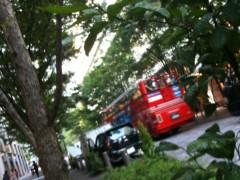 中村アン 公式ブログ/赤いバス 画像1