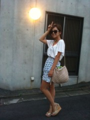 中村アン 公式ブログ/暑かったネ 画像2