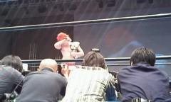 矢野武 公式ブログ/『ブシロードレスリング終了』 画像1